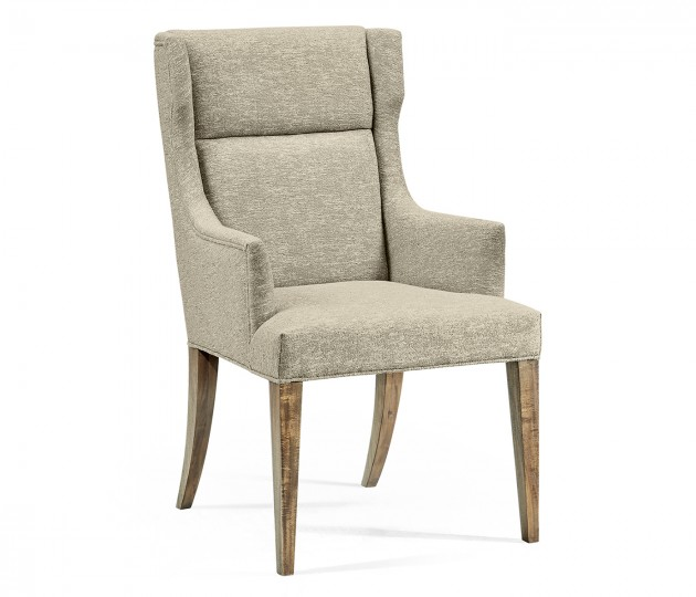 Hamilton Golden Amber Occasional Chair, Upholstered in Zany