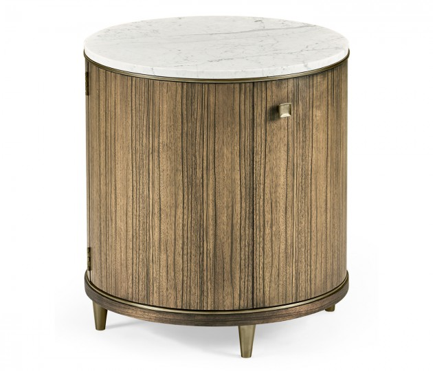 Hamilton Round Table with Marble
