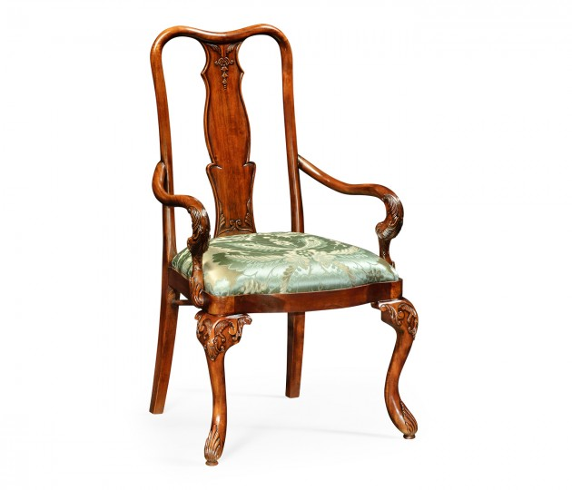 Mahogany dining armchair (COM)