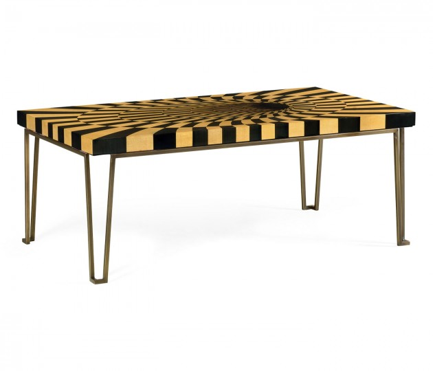 3D Op Art Coffee Table