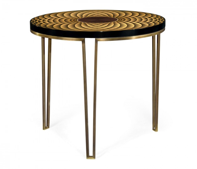 Helical Round Lamp Table