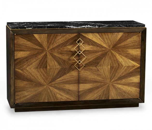 Bookmatched Walnut Sideboard