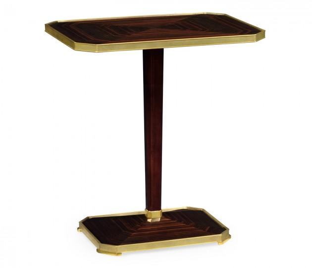 Rectangular Macassar Ebony Side Table