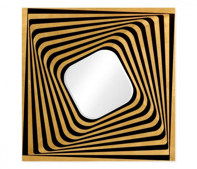 Psychedelic Op Art Mirror