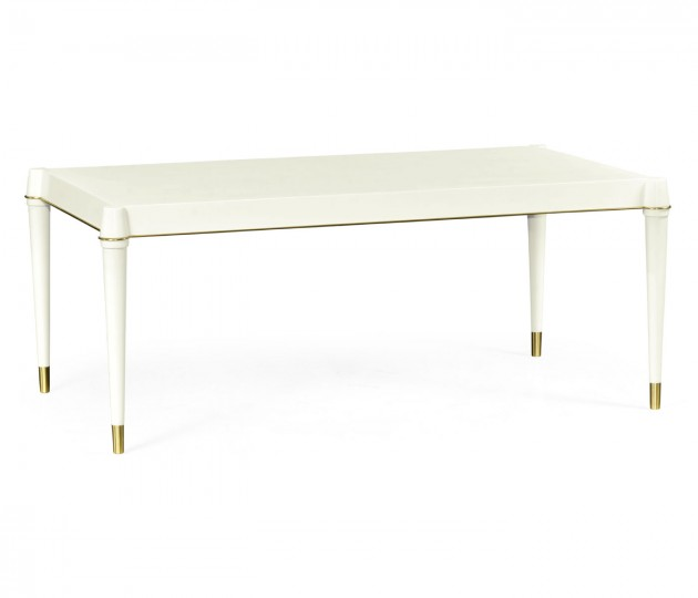 Ivory Painted Coffee Table