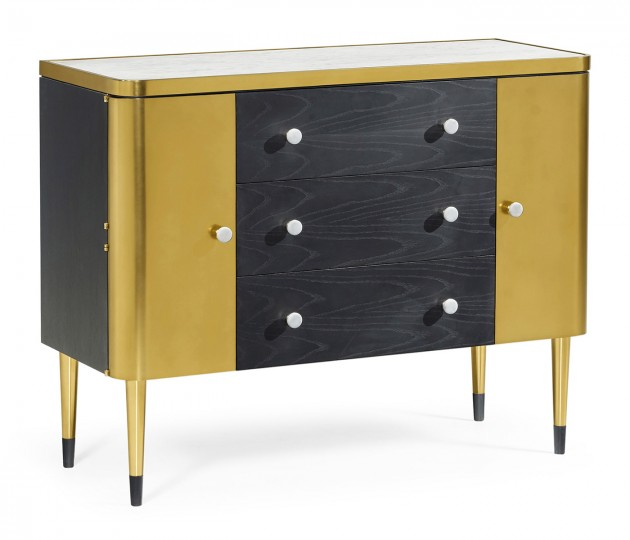 Fusion Cabinet with Marble Top
