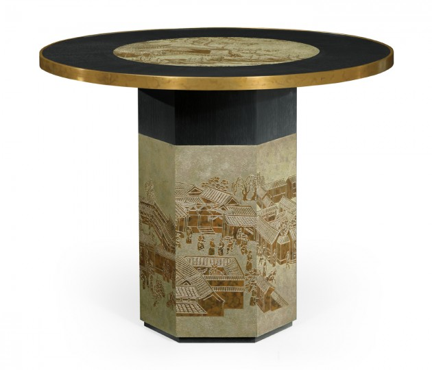 Fusion Chinoiserie Center Table