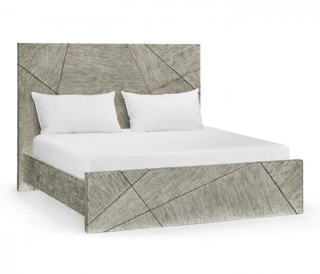 Geometric US King Bed