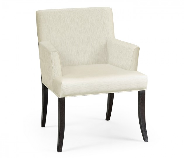 Geometric Dining Arm Chair