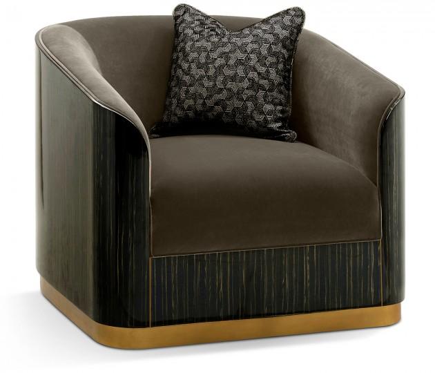 Fusion Macassar Lounge Chair