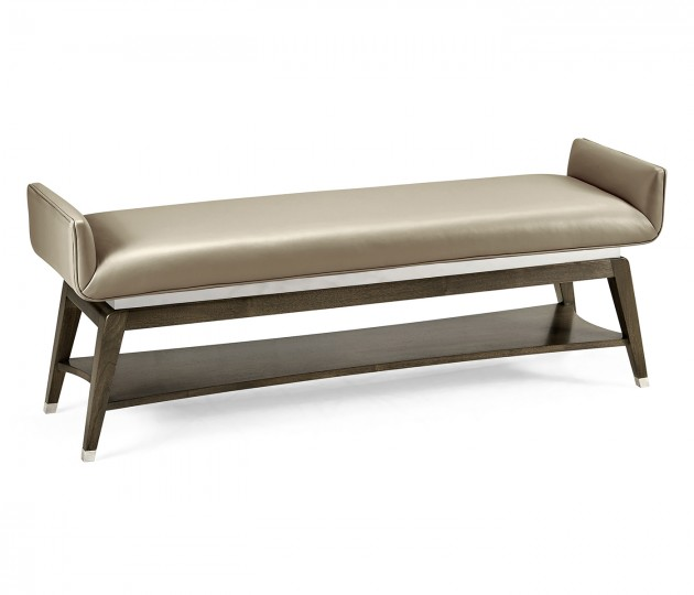 Gatsby Leather Bench