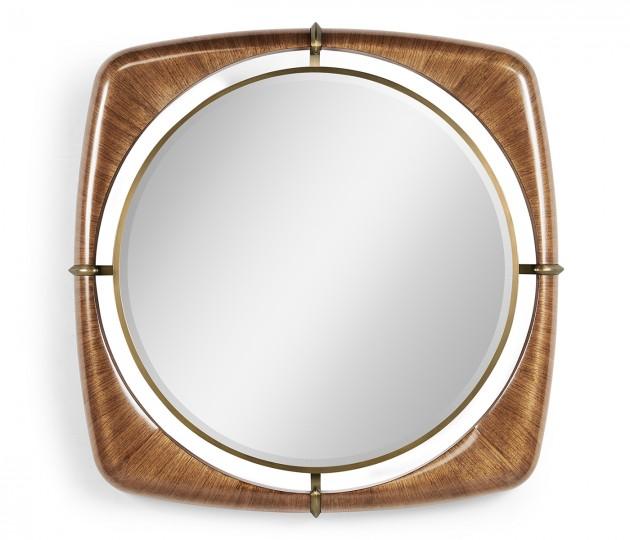 "Toulouse 42"" Walnut Mirror"
