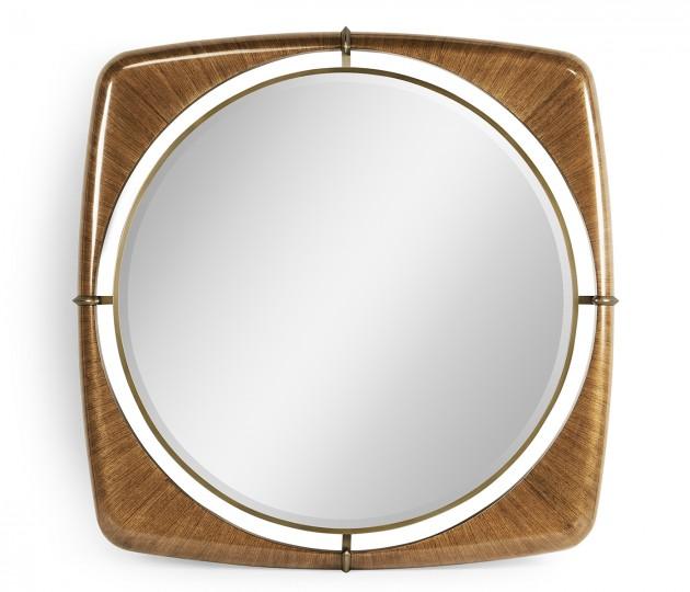 "Toulouse 52"" Walnut Mirror"
