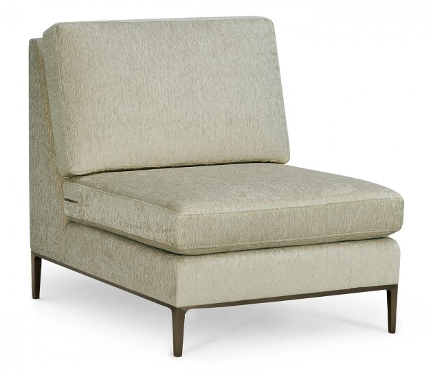 Toulouse Armless Lounge Chair