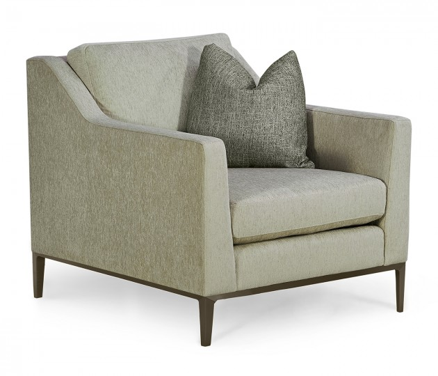 Toulouse Lounge Chair, Upholstered in Duchess