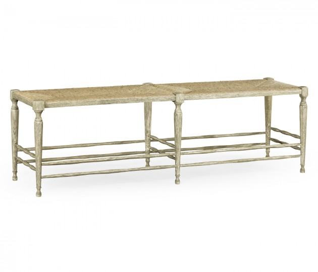 Bodiam Grey Oak Bench