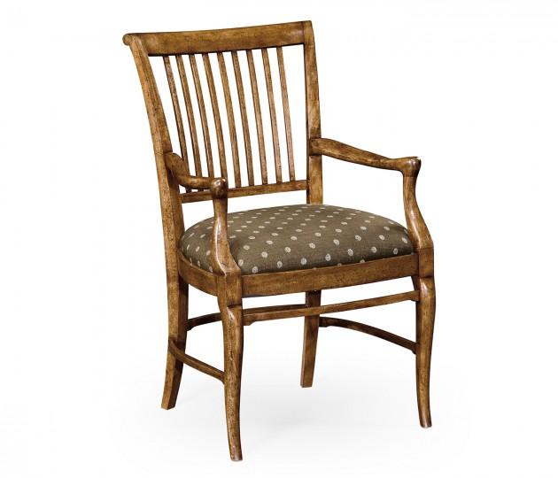 Kilkenny Grey Fruitwood Armchair