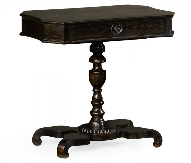 Yarne Charcoal Wash End Table