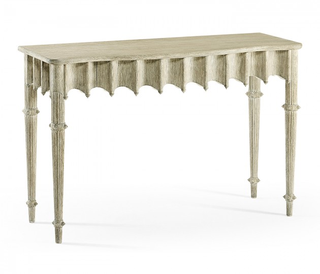 Artaross Grey Oak Console Table