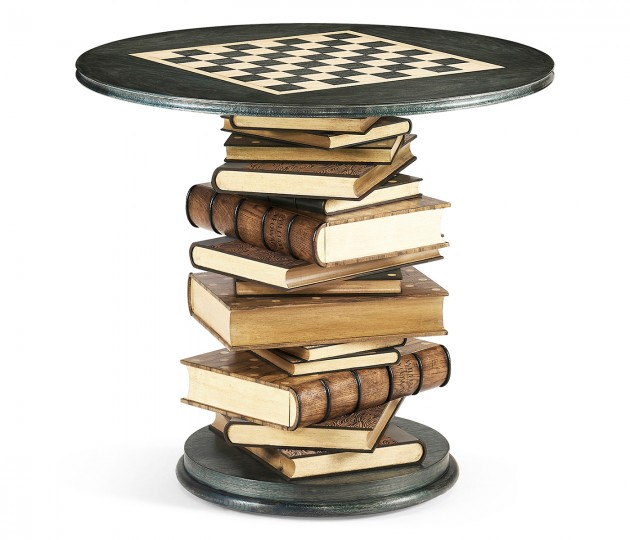 Tenbury Navy Oak Game Table