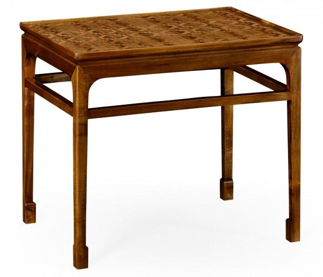Leyburn Natural Acacia End Table