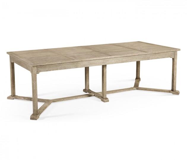 Hawford Grey Oak Dining Table