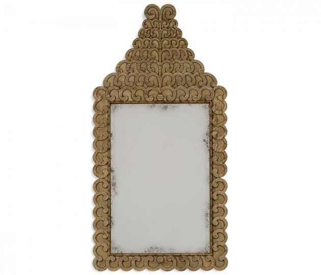 Arlington Washed Oak Mirror