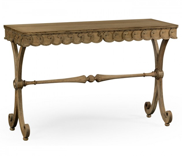 Armadale Washed Oak Console