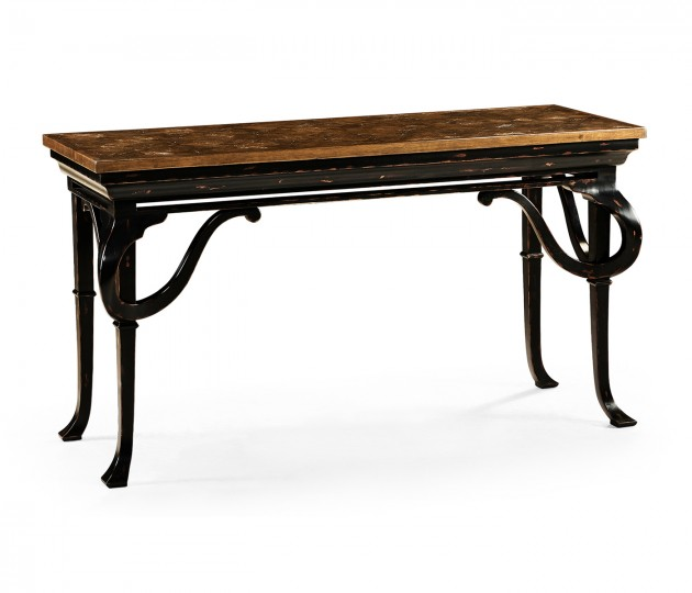Heathcliff Dark Walnut Console
