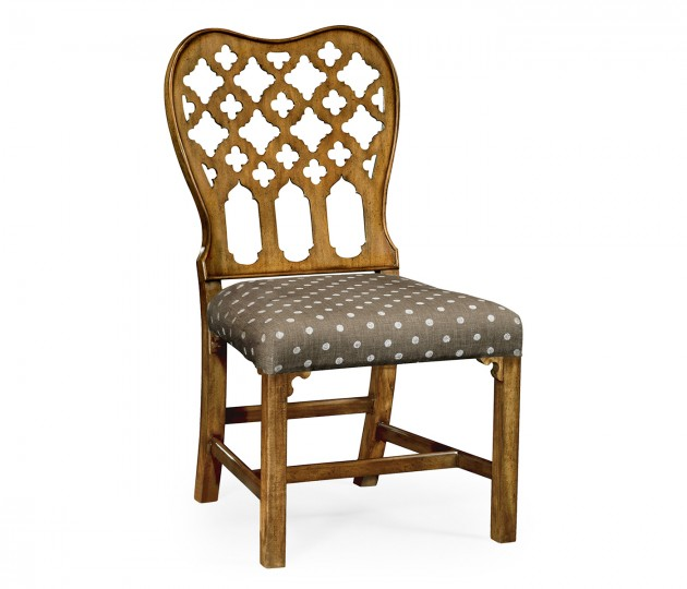 Kingsley Grey Fruitwood Side Chair