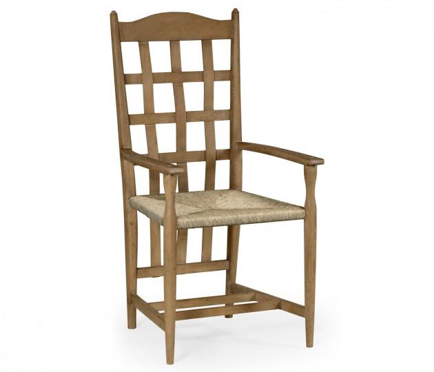 Tarvin Vintage Oak Armchair