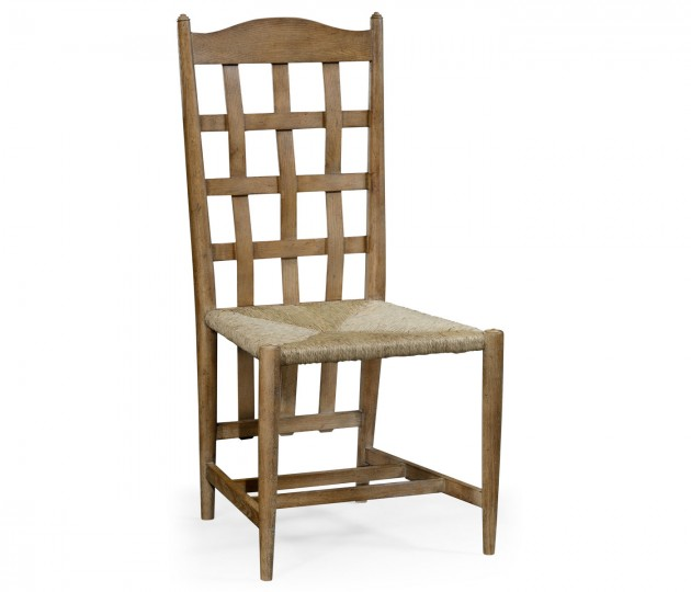 Tarvin Vintage Oak Side Chair