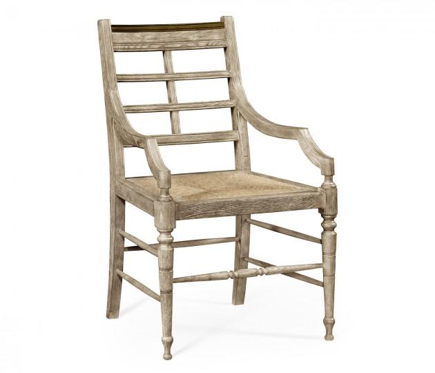 Marshfield Grey Oak Armchair