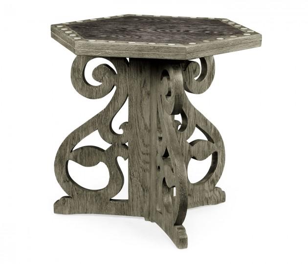 Collamore Charcoal Oak Table