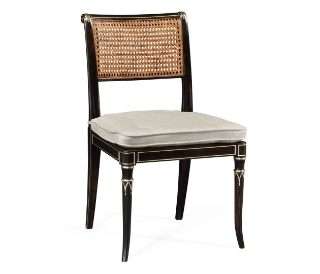 Linden Charcoal Wash Dining Side Chair
