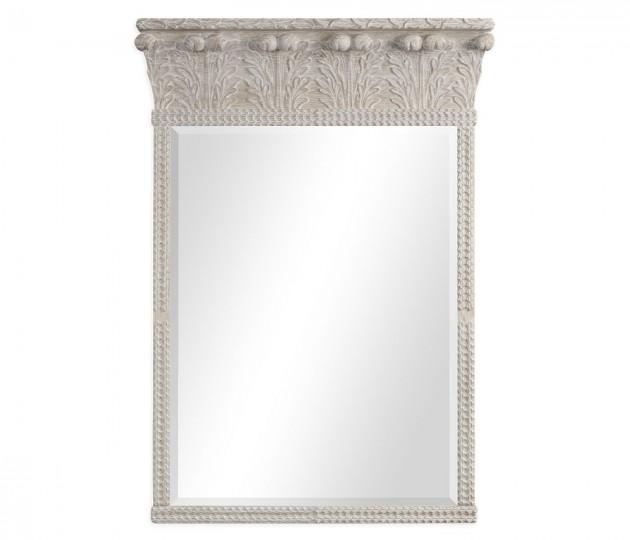Rothesay Venetian White Oak Mirror