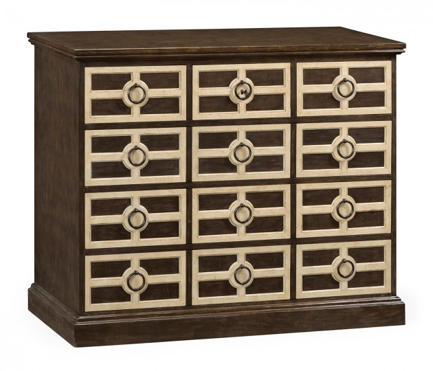 Midmoor Beige Chest of Drawers