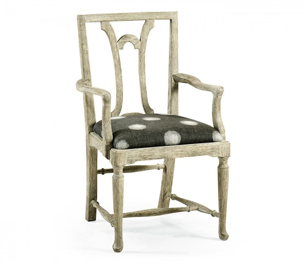 Lewellen Grey Oak Armchair