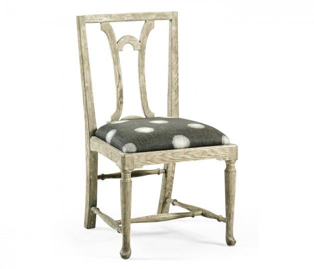 Lewellen Grey Oak Side Chair