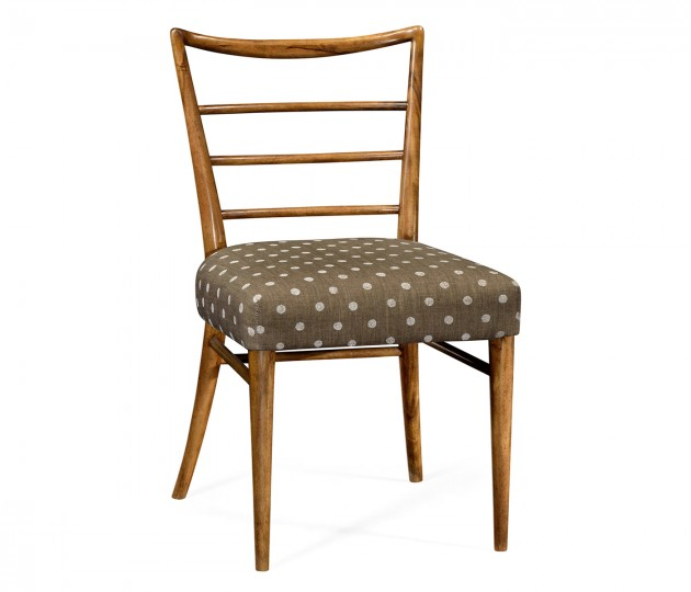 Pensacola Grey Fruitwood Dining Side Chair