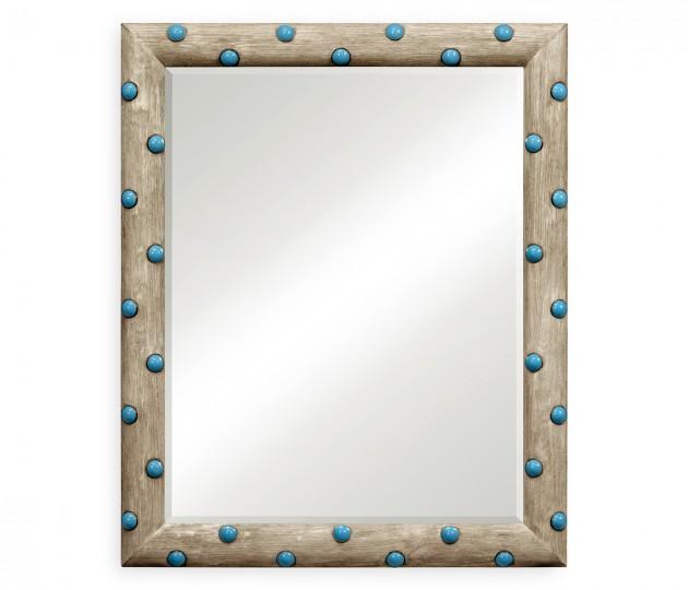 Polka Grey Oak Mirror