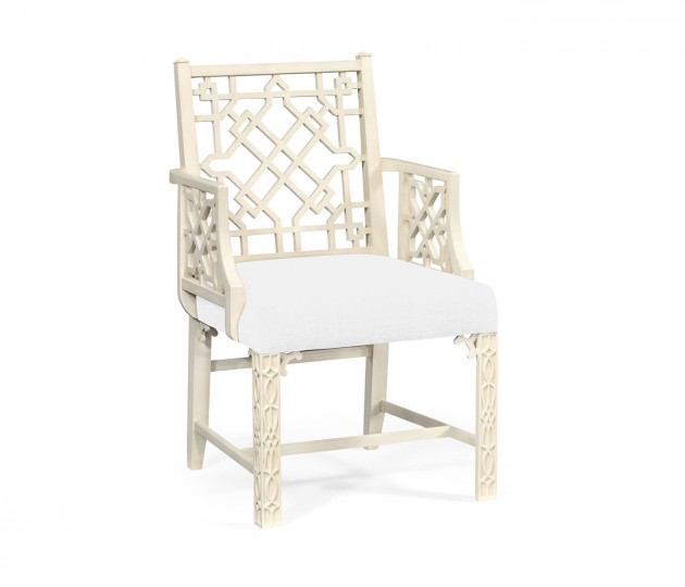 Loxley Linen Chair, Upholstered in COM
