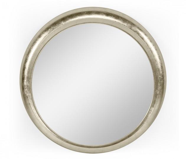 "48"" Sorbati Antique Silver Mirror"