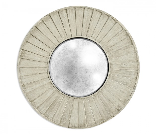 """60"""" Bywater Washed Acacia Mirror"""