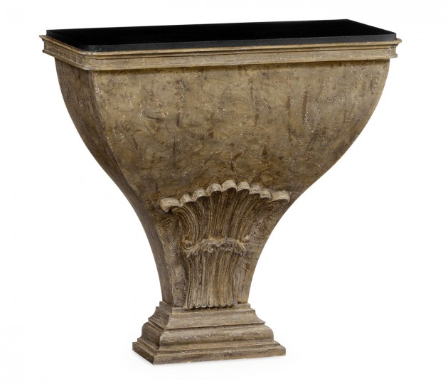 Luccata Country Distressed Console Table