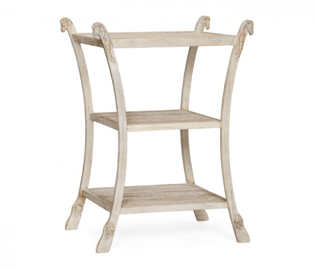 Collana Washed Acacia Side Table