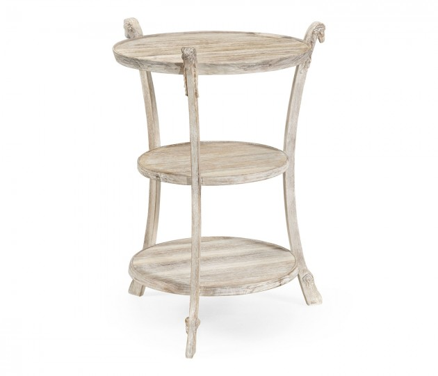 Bywater Washed Acacia End Table