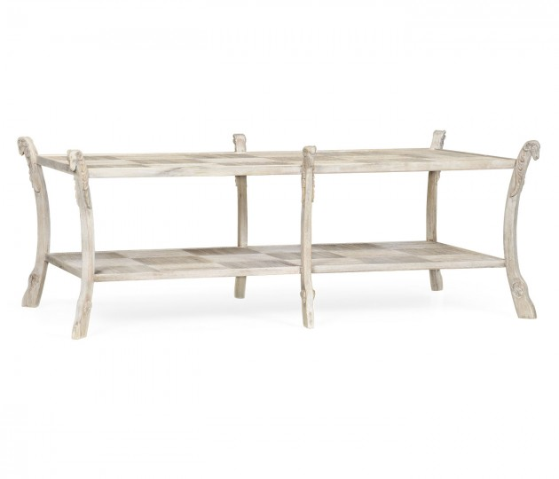 Bywater Washed Acacia Coffee Table