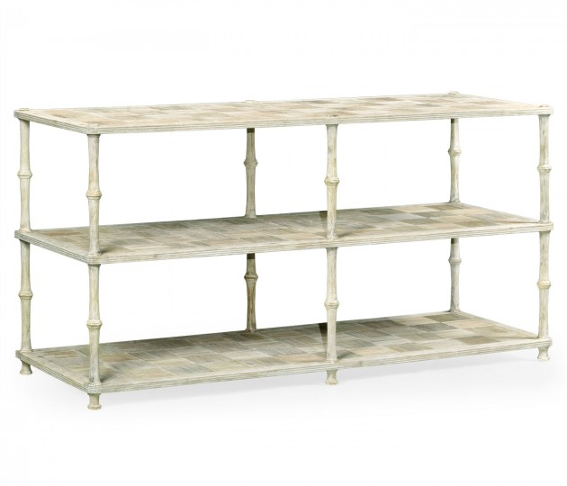 Bywater Washed Acacia Console Table