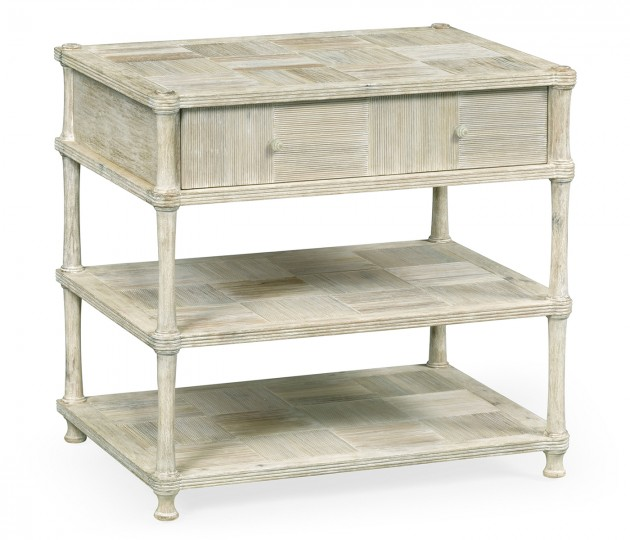 Bywater Washed Acacia Bedside Chest